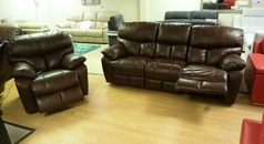 Pembroke Recliner 3 Seater And Electric Recliner Chair 163