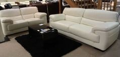 Rosa 3 Seater and 2 Seater sets in Winter White (Package Price £2,699) - Click for more details