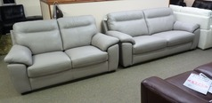 Trento 3 Seater and 2 Seater Silver Grey (Package Price £1,699) - Click for more details