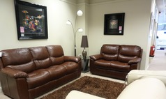 Lille 3 seater and 2 seater chestnut brown £2099 - Click for more details