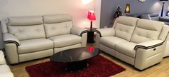 Miami 3 Seater + 2 Seater Electric Recliner Sofas £2,699 - Click for more details