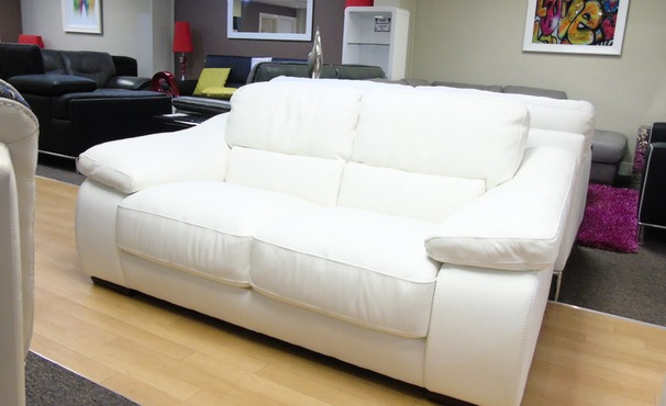 Forme 2 seater white £499 (SUPERSTORE)