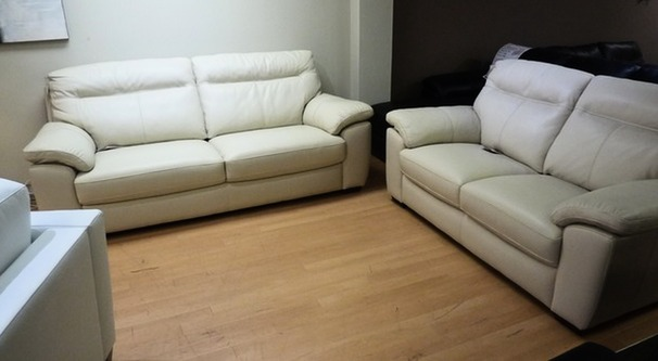 Trento 3 seater and 2 seater mid beige £1699