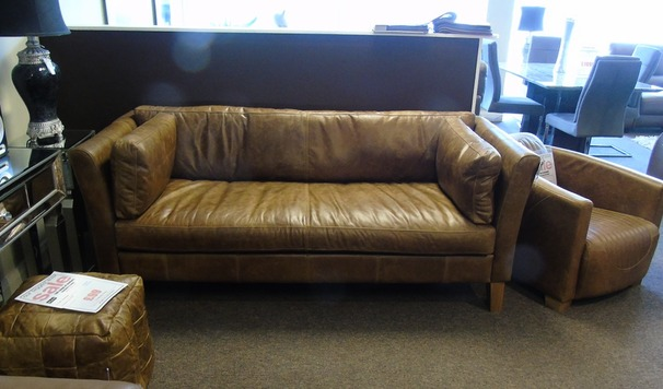 Vintage 3 seater sofa £999 (SUPERSTORE)