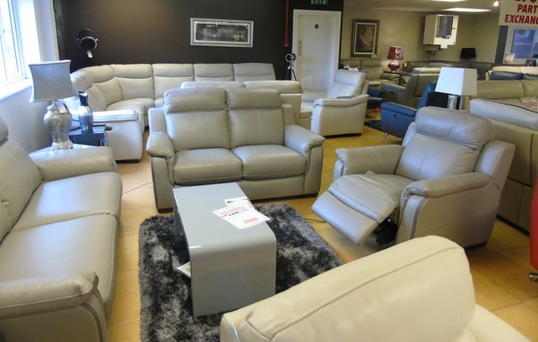 Cotswold 3 seater, 2 seater and electric recliner chair grey (SUPERTSORE) £3099