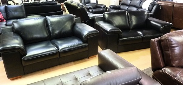 Madrid 2 seater and 2 seater black 999 (CLEARANCE OUTLET)