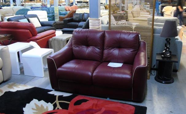 Estelle 2 seater bordeaux £399 (CLEARANCE OUTLET)