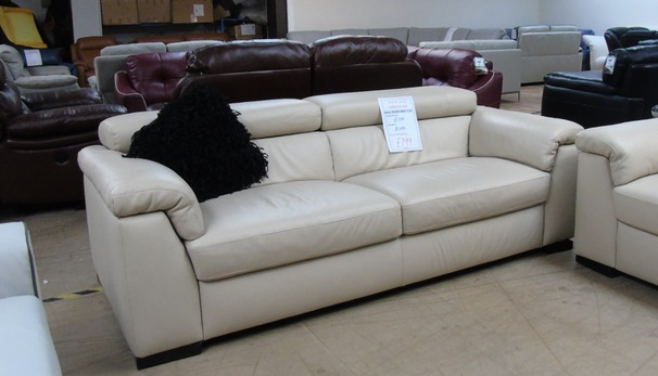 BELIZE 3 seater beige £499 (CLEARANCE OUTLET)