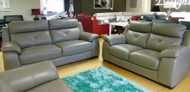 Strasbourg 3 seater and 2 seater  granite grey £2199 (SUPERSTORE)
