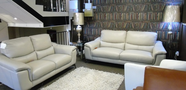 Dijon 3 seater and 2 seater  stone grey £1799 (SUPERSTORE)