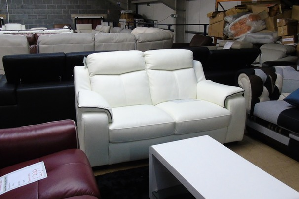 Reims 2 seater  white £399 (SUPERSTORE)