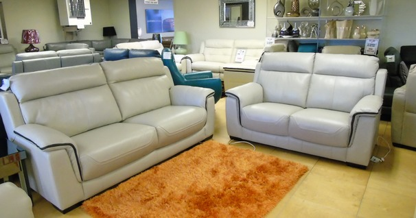 Chippenham 3 seater and 2 seater stone grey £1899 (SUPERSTORE)