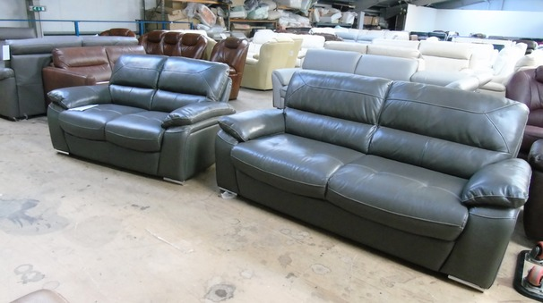 Gloria 3 seater and 2 seater grey £899 (SUPERSTORE)
