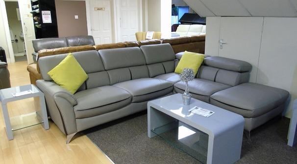 Cora corner suite-left arm grey £999 (SUPERSTORE)