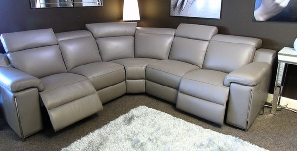 Palinuro double electric recliner corner suite £3499 (SUPERSTORE)